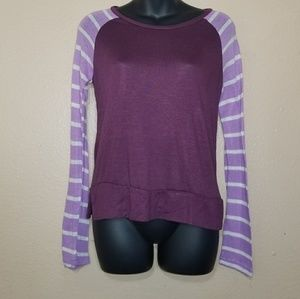 Rue 21 purple long sleeve shirt